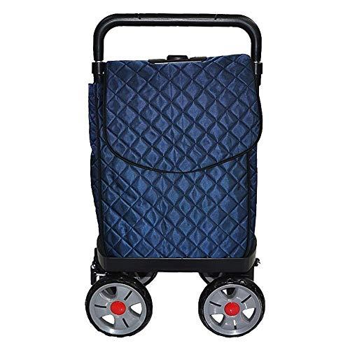 HYY-YY Shopping Carts, Mountain Climbing Carts, Folding Carts, Portable Carts, Household Carts.Size: 40 * 25.5 * 92CM.