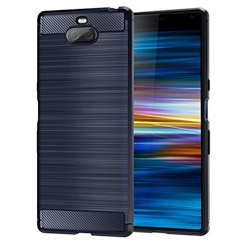 MoKo kompatibel für Sony Xperia 10 Plus Hülle, Premium Ultra Slim Leicht weiches TPU Protector Phone Hülle Handy Schutzhülle Schale Bumper für Sony Xperia 10 Plus Hülle 6.5