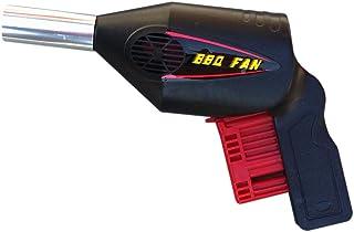Pistola para reavivar brasas, apta para alimentar y reavivar las brasas de barbacoas y chimeneas, gracias al mecanismo de aire generado al presionar el botón. En blíster.