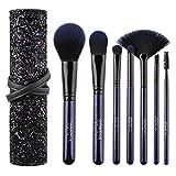 Maquillaje juego de brochas Maquillaje artista de maquillaje profesional pincel de sombra de ojos Blush lápiz de cejas y Labios Brush