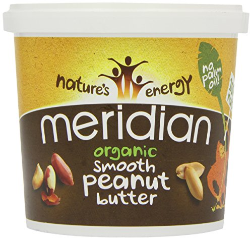 Meridian Organic 100 Percent Smooth Peanut Butter 1 Kg