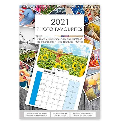 2020 Fotokalender A4 DIY Personaliseer met fotos van 6x4 of 7x5 - 1 kalender 8865