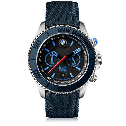 Ice-Watch - BMW Motorsport (steel) Dark & Light BE - Men's wristwatch with leather strap - Chrono - 001121 (Large)