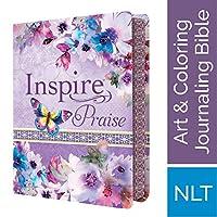 Inspire Praise: New Living Translation, Coloring & Creative Journaling