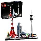 LEGO 21051 Architecture Skyline Collection Tokio, Set de Construcción, Modelo de Coleccionista, Maqueta Decorativa