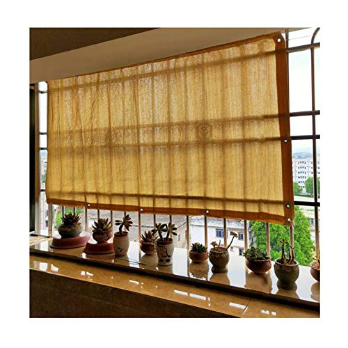 LIANGJUN Pantalla Balcón Privacidad, HDPE Red De Sombreado, UV Proteccion por Exterior Balcón Patio Poner En Pantalla Cubrir, Beige, Tamaño Personalizado (Color : A, Size : 200x250cm)
