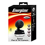 Energizer Connect Wi-Fi Smart Indoor Pan & Tilt Camera Home Security iOS & Android App Included