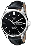 TAG Heuer WAR201A.FC6266 – Men's Watch with Black Leather Strap