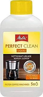 Melitta Perfect Clean Liquid voor filterkoffiezetapparaten, 250 ml, natuurlijke vloeistof, transparante kunststof fles, ar...