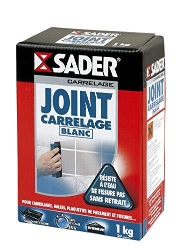 Junta de azulejos SADER blanca en polvo – 1 kg