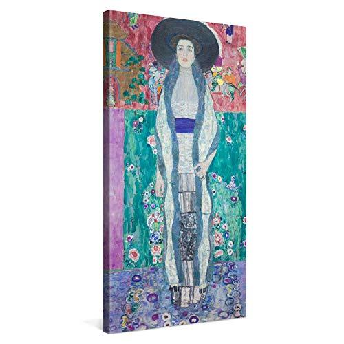 PICANOVA – Gustav Klimt Portrait of Adele Bloch-Bauer II 50x100cm – Quadro su Tela – Stampa Incorniciata con Spessore di 2cm Altre Dimensioni Disponibili Decorazione Moderna