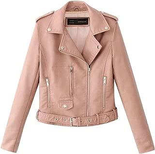 Women Jackets, E-Scenery Lapel Motor Coat Zip Biker Short Punk Cropped Tops