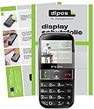 dipos I 2X Schutzfolie matt kompatibel mit Emporia Euphoria V50 Folie Bildschirmschutzfolie