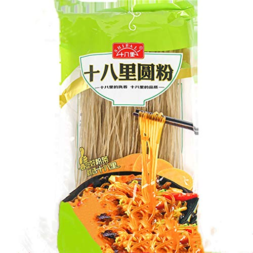 Sweet Potato Noodles, Glass Noodle, 100% Sweet Potato Starch Crystal Vermicelli, Gluten-free and No Additive (6oz/170g)
