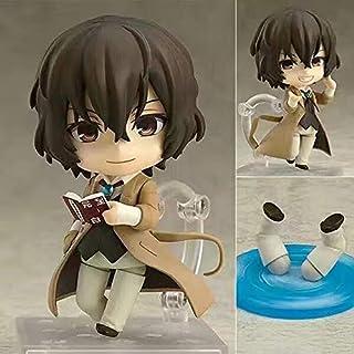 QTRT Bungou Stray Dogs Dazai Osamu Q Versione Toy intercambiabile Viso PVC Anime Gioco del personaggio dei cartoni Modello...