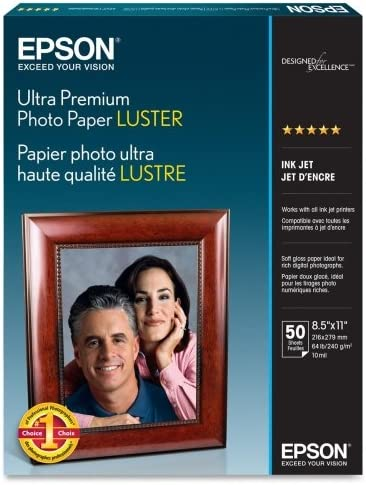 Wholesale CASE of 5 Our shop OFFers the best Regular store service - Epson P Paper-Premium Luster Photo Premium