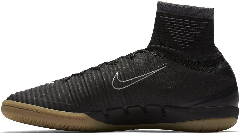 Nike Men's MercurialX Proximo II Indoor Black Black Gum Size 9