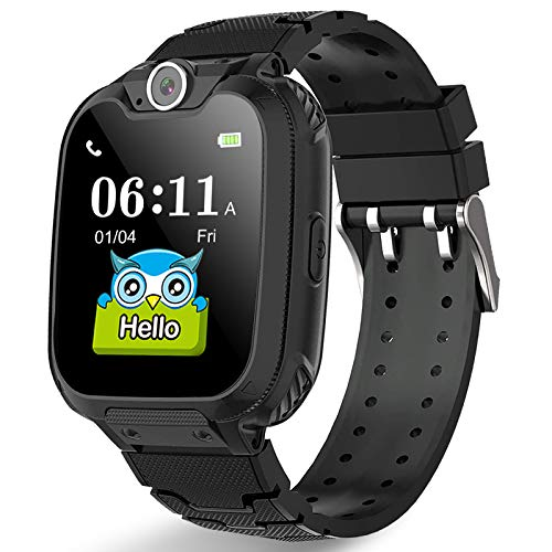 PUBU Kids Smart Watch Phone for Girls and Boys Age 4-16 (4 Colors), Make Call Without Cellphone,...