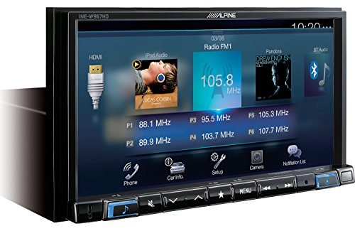 Lowest Price! Alpine INE-W967HD Navigation Receiver