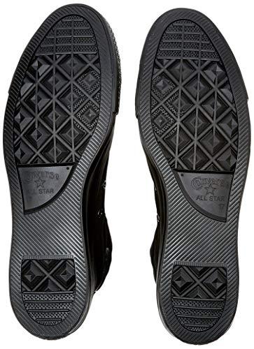All Star DACH GmbH - Shoes Converse Unisex M3310C C Taylor A/S Hohe Sneaker,Schwarz (Black Mono), 35