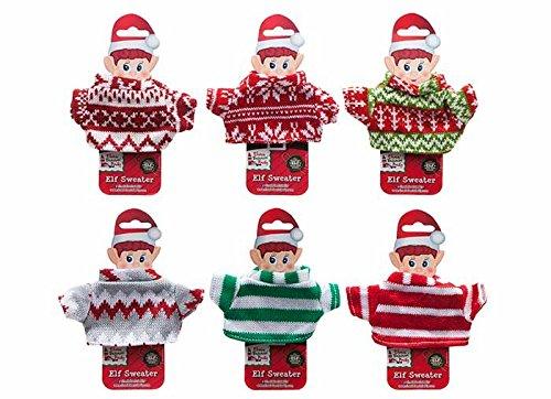 Elves Christmas Jumper - 6 Designs Available - 1 Selected at Random - Elves Behavin' Badly