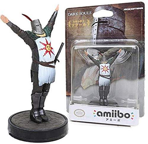 Regalos de Anime Juego de 9 cm Dark Souls Colección de Juguetes Estatua Solaire de Astora Saludos al Sol PVC Figura de acción Modelo Muñeca de Juguete