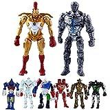 Real Steel 8pcs/Set Toys 5' PVC Action Figure Atom...
