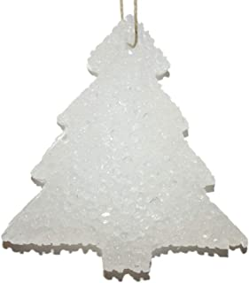 ChicWick Car Candle Twisted Peppermint Christmas Tree Shape Car Freshener Fragrance