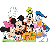 Star Cutouts Ltd Disney, sagoma di Topolino e Amici, in Cartone, Multicolore, 99 x 137 x 99 cm