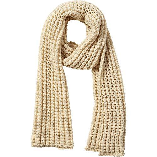 Tickled Pink Damen Amanda Chunky Knit Scarf Schal für kaltes Wetter, beige