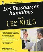 Les Ressources Humaines Pour Les Nuls de Sabine WOJTAS