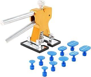 Almencla 6er Zugadapter Set Klebeadapter Ausbeulwerkzeug Dent Tabs f/ür Saugheber Vakuumsauger Dent Abzieher
