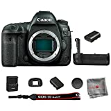 Canon EOS 5D Mark IV DSLR Camera Body with Battery Grip and Extra Battery Pack (International Model) 1 Year Seller Warranty