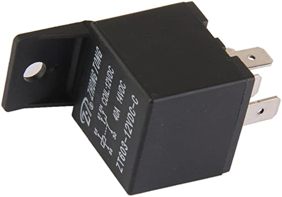 Details about  /ZT603-12V-A-S Car Auto Truck DC 12V 40A 40 AMP SPST Relay Relays 4 Pin