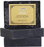 Vivo Per Lei Dead Sea Soap - Acne Soap with Dead Sea Salt - Get Irresistible Skin with this Exfoliating Soap Bar - Dead Sea Mud Soap for Gentle Cleansing (3 pack)