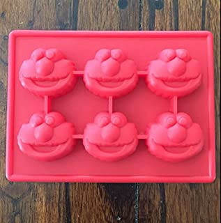 Sesame Street Elmo Silicone Candy Chocolate Mold Mini Cake Pan