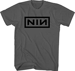 Nine Inch Nails Black Logo on Charcoal T-Shirt All Sizes New