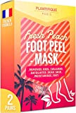 Premium Foot Peeling Mask by Cosmety Paris - 2 Pairs - Removes Callus