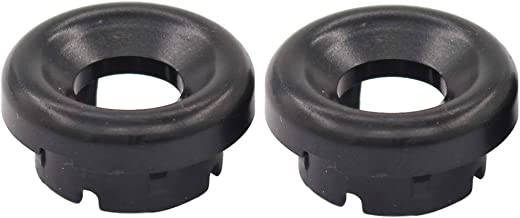 NewYall Pack of 2 Transmission Shift Overdrive Switch Button Gear Shifter Handle Bezel Cap Ring