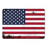 Mousepad Fahne Retro Vereinigte Staaten farbig