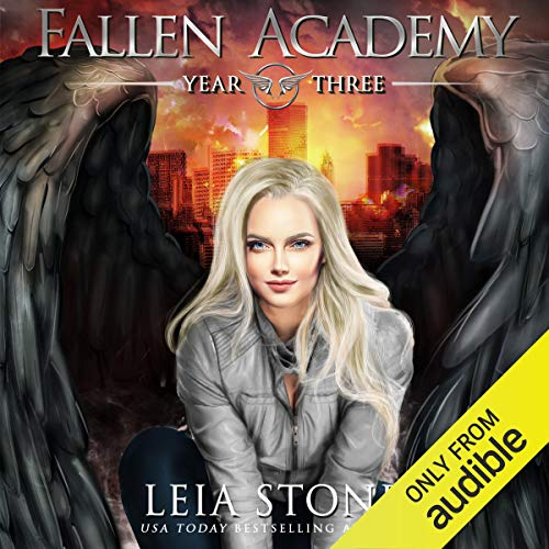 Page de couverture de Fallen Academy: Year Three
