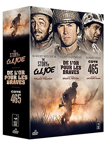 DE L'OR POUR LES BRAVES / THE STORY OF G. I. JOE / COTE 465 - Coffret DVD