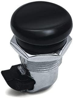 Kuryakyn 06-19 Harley FLHX2 Push Button Fuel Door Latch (Gloss Black)