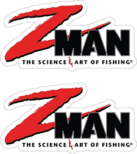 Bermuda Shorts Graphics 6' Z-Man Decal Pair Quality Decal Sticker Tackle Box Fishing Boat Truck Trailer