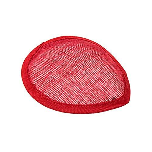 Sombrero base cinators Millinery Art Headwear Bride Party Decoración Boda DIY Forma...