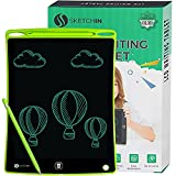 LCD Writing Tablet 10 Inch, Writing Tablet for Kids, Gift for Kids Doodle & Scribble Board, Boogie Board kids, (Green)