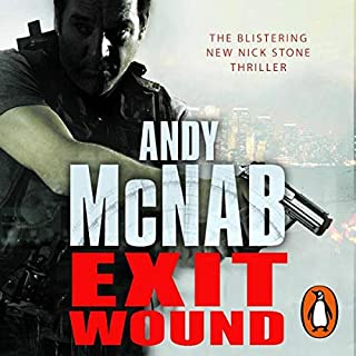 Exit Wound     Nick Stone, Book 12              By:                                                                                                                                 Andy McNab                               Narrated by:                                                                                                                                 Rupert Degas                      Length: 3 hrs and 2 mins     62 ratings     Overall 3.9
