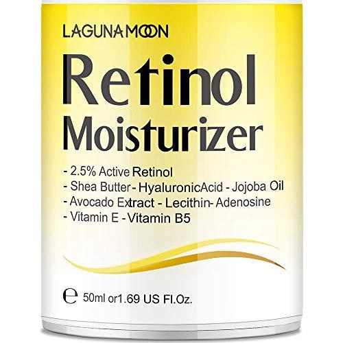 Lagunamoon Retinol Moisturizer Cream for Face - Wrinkle Cream for Women and...