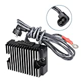SCITOO Regulator Rectifier 74519-88 74519-88A H1988 Replacement Voltage Regulator Rectifier Fit for 2014 CVO 1991-1999 Dyna 74519-88 74519-88A H1988