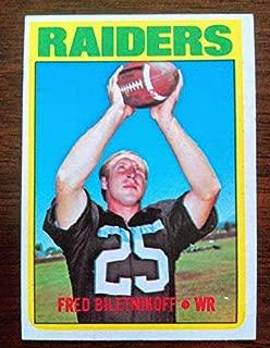 Fred Biletnikoff - 1972 Topps # 210 - Oakland Raiders/Florida State Seminoles (FSU)